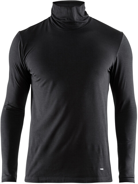 Craft Essential Warm Bluzka z długim rękawem Mężczyźni czarny